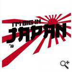I'm Big in Japan miesten valkoinen t-paita